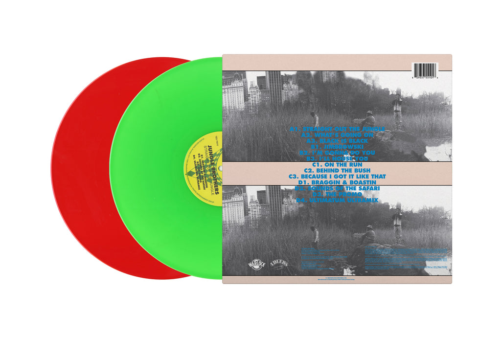 Straight Out The Jungle (2xLP) (Colored Vinyl Version)