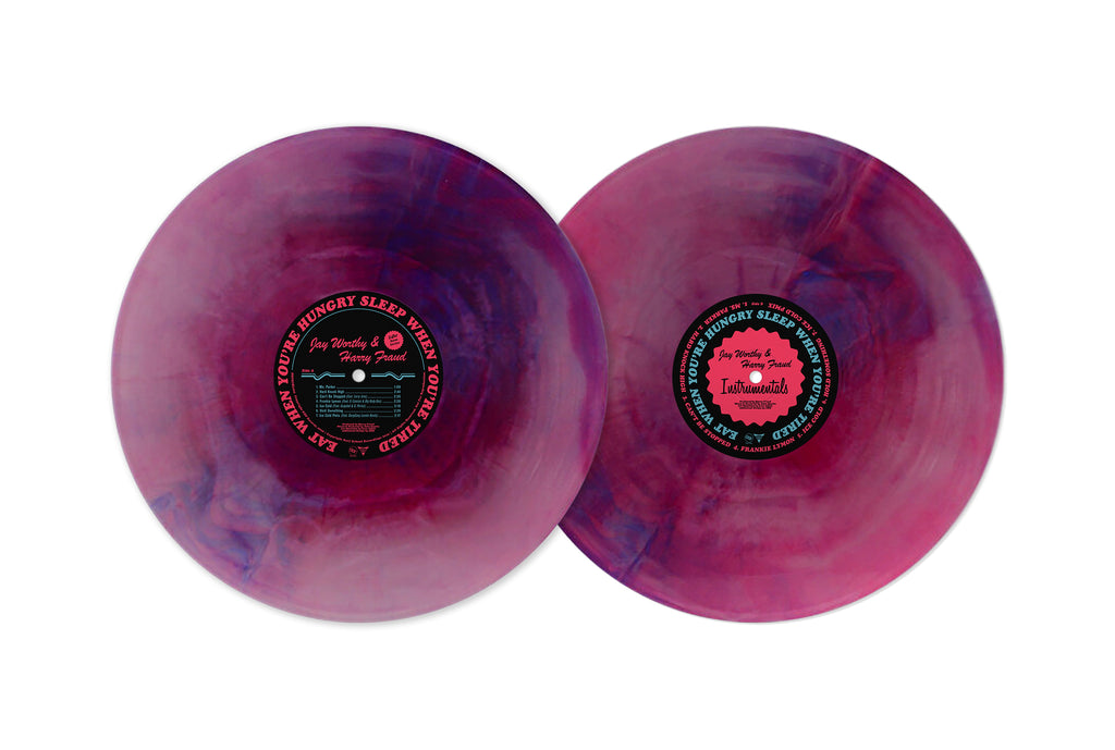 Eat When You're Hungry, Sleep When You're Tired (Purple Swirl Colored Vinyl LP)