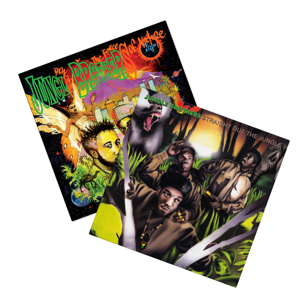 Jungle Brothers Vinyl Bundle (4xLP Bundle)