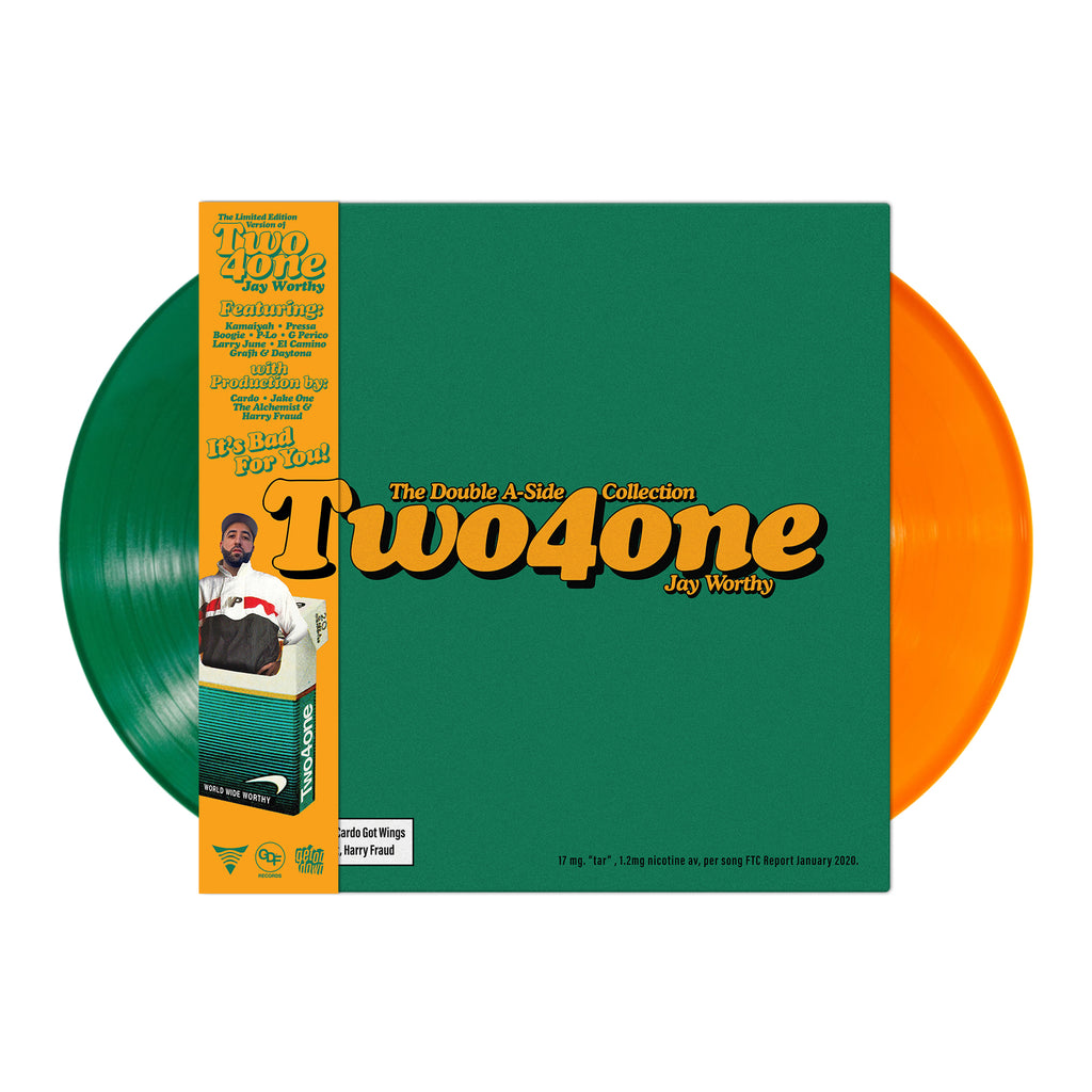 Two4one (Green + Orange Colored Vinyl 2LP Bundle)