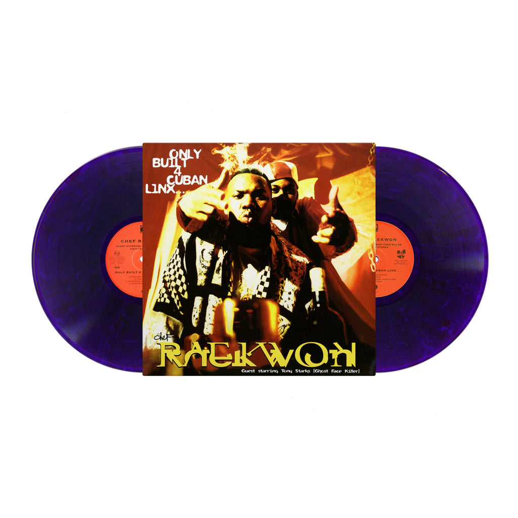 Only Built 4 Cuban Linx...20th Anniversary Purple Tape Watch Box (Cassette & 2xLP Bundle)