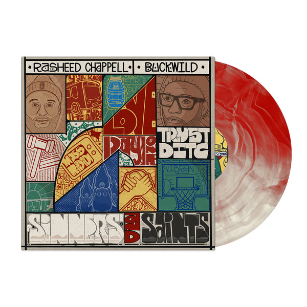 Sinners and Saints (Red & White Swirl Colored LP)