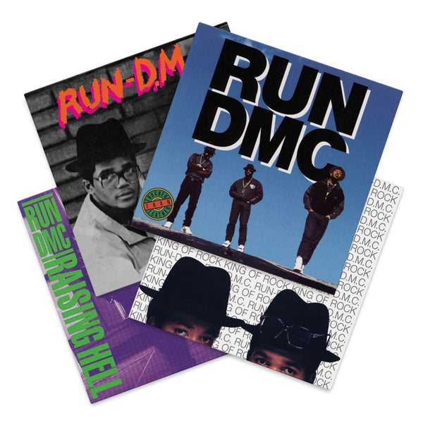 Run-DMC First 4 Albums (4xLP Bundle)