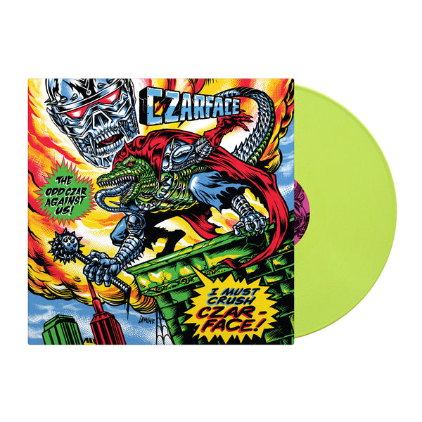 The Odd Czar Against Us (Black Friday RSD Version - Green Vinyl LP)