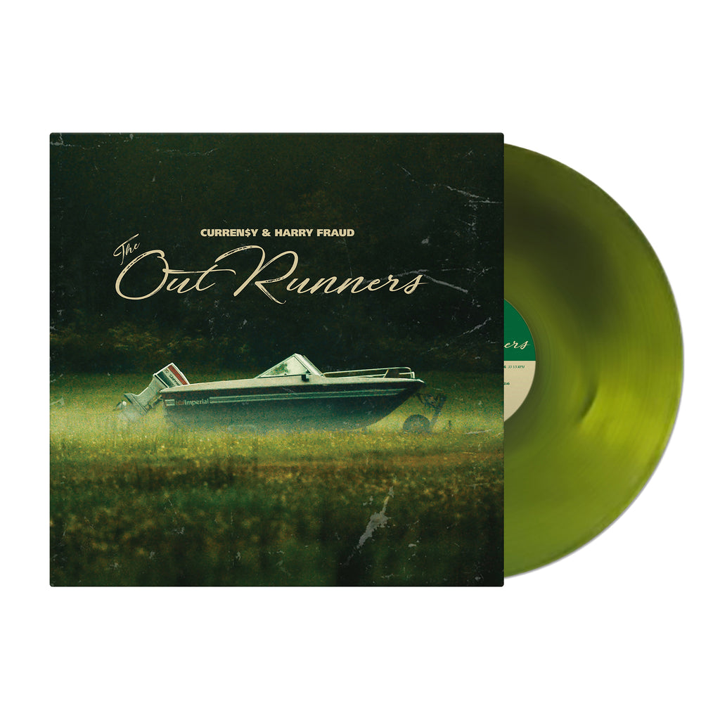 The OutRunners (Green Swirl Vinyl + CD Bundle)