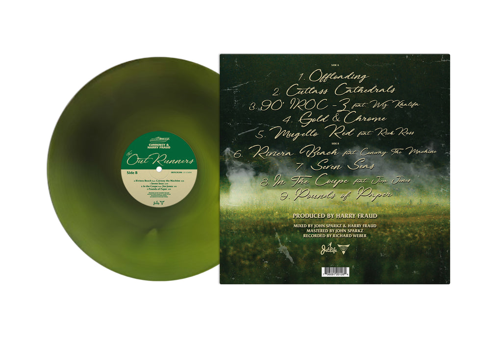The OutRunners (Green Swirl Colored LP)