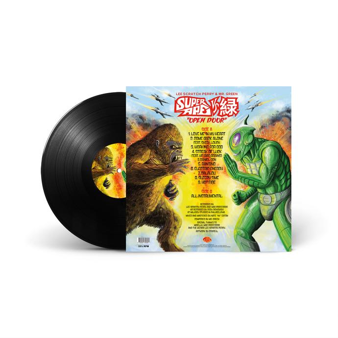 Super Ape vs Open Door (LP)