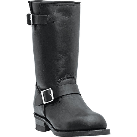 DINGO MEN'S  LEATHER ROB BLACK