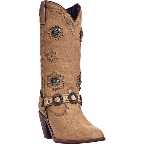 DINGO WOMEN'S  LEATHER ADDIE CHESTNUT