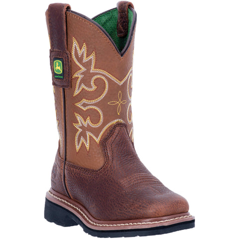 JOHN DEERE CHILDREN'S  LEATHER JOHNNY POPPER CHILDREN'S MESQUITE