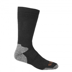 5.11 Tactical Cold Weather OTC Sock Color: Black Size: Large to X-Large