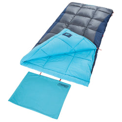Coleman Heaton Peak 30  Big & Tall Rectangular Sleeping Bag