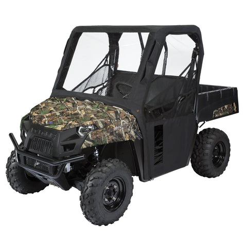 Classic Accessories UTV Rhino Cab Enclosure-Half Doors-Black