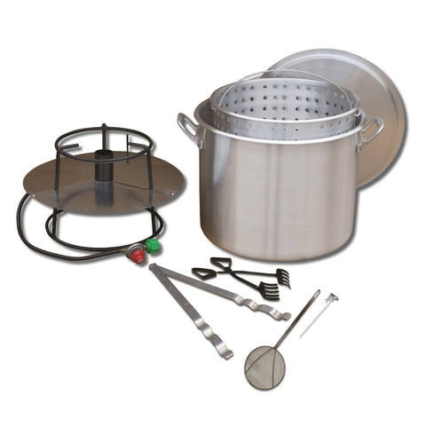 King Kooker #80BP- Cooker and 80 Qt. Pot Boiling Combo Pkg