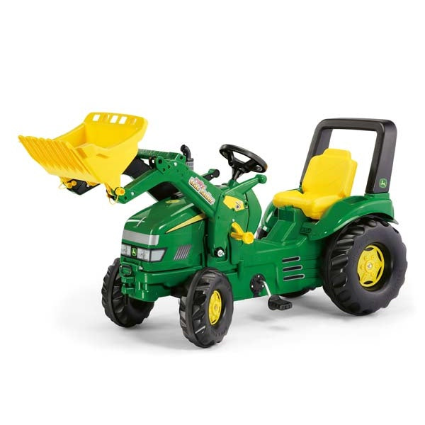 Rolly Toys John Deere X-Trac Pedal Tractor and Loader