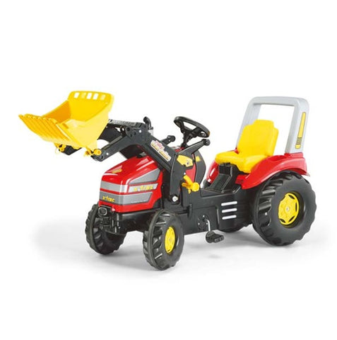 Rolly Toys Red X-Trac Pedal Tractor and Loader
