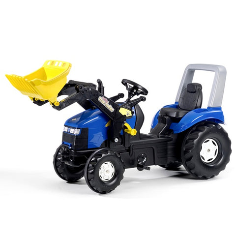 Rolly Toys New Holland X-Trac Pedal Tractor and Loader