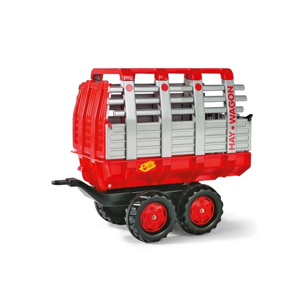 Rolly Toys Red Hay Wagon