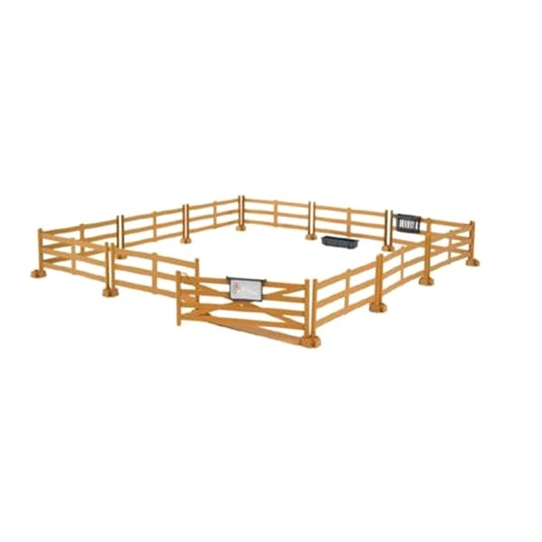Bruder Toys BWorld Pasture Fence Brown Bruder 62604