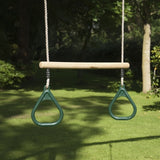TP Toys Wooden Trapeze Bar and Rings