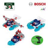 Theo Klein 8794 Bosch Construction Set, 3 in 1 Watercraft Team