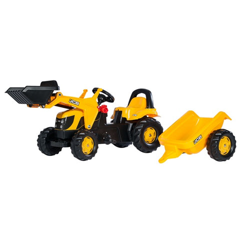 Rolly Toys JCB  Medium Tractor Trailer and Loader