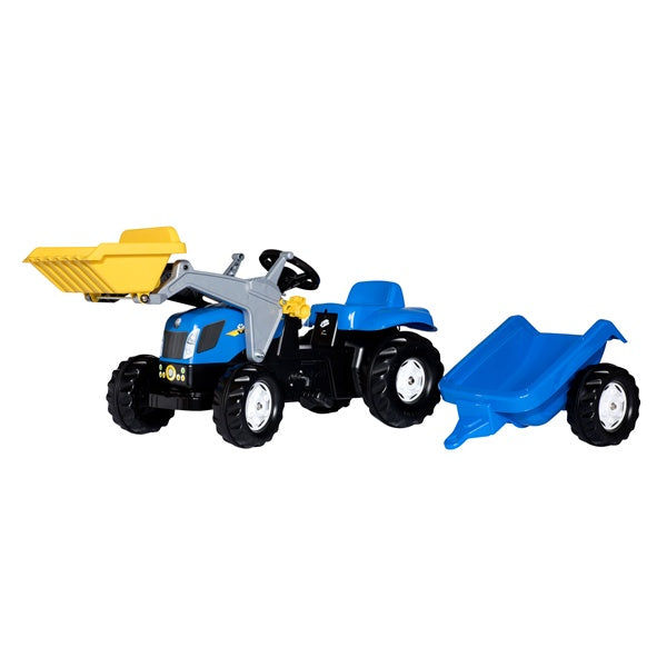 Rolly Toys New Holland Tractor Trailer and Loader