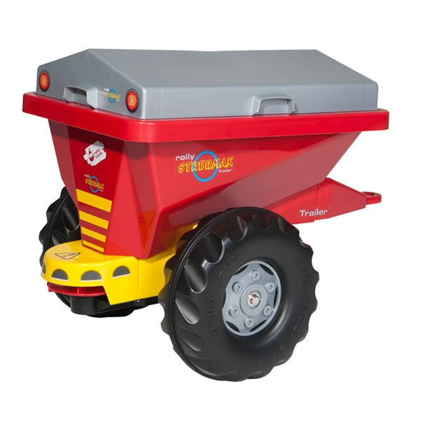 Rolly Toys Red Streumax Spreader Trailer