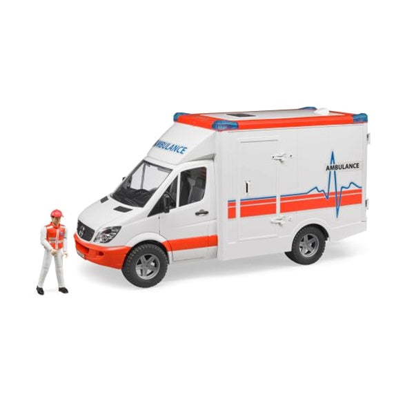 Bruder Toys Mercedes Benz Sprinter Ambulance Bruder 02536