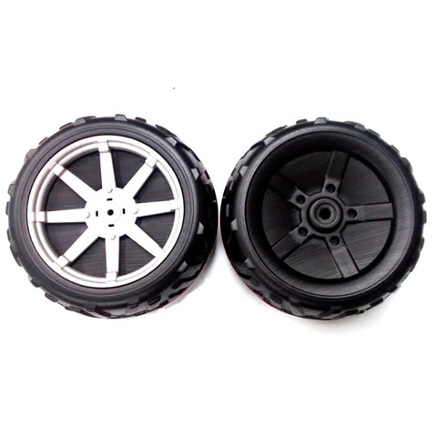 Peg Perego Polaris Ranger RZR 24 volt Jeep Rear Wheels