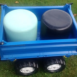 Rotational Moulded Pedal Tractor Round Bales
