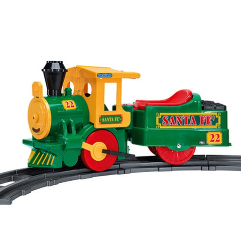 Peg Perego 6 -Volt Santa Fe Train and Track