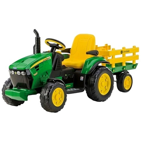 Peg Perego 12 -Volt John Deere Ground Force Tractor and Trailer