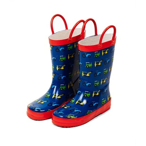 Tractor Ted Red Welly Boots