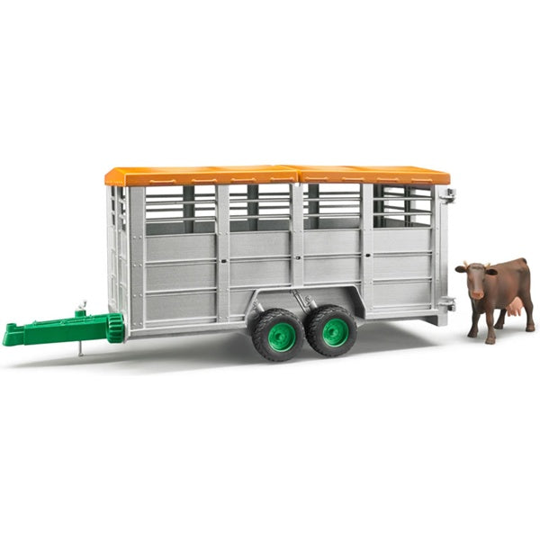 Bruder Toys Livestock Trailer with Cow Bruder 02227