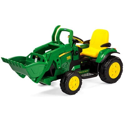 Peg Perego 12 -Volt John Deere Ground Loader Tractor