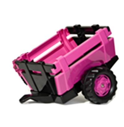 Rolly Toys Pink Farm Trailer