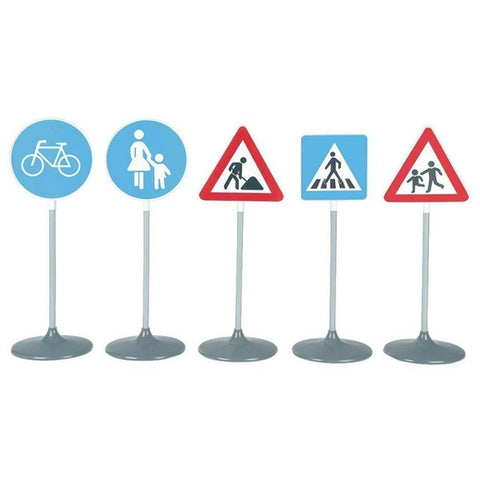 Theo Klein 5-Pack Traffic Signs