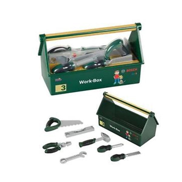 Theo Klein Bosch Work Box with Tools