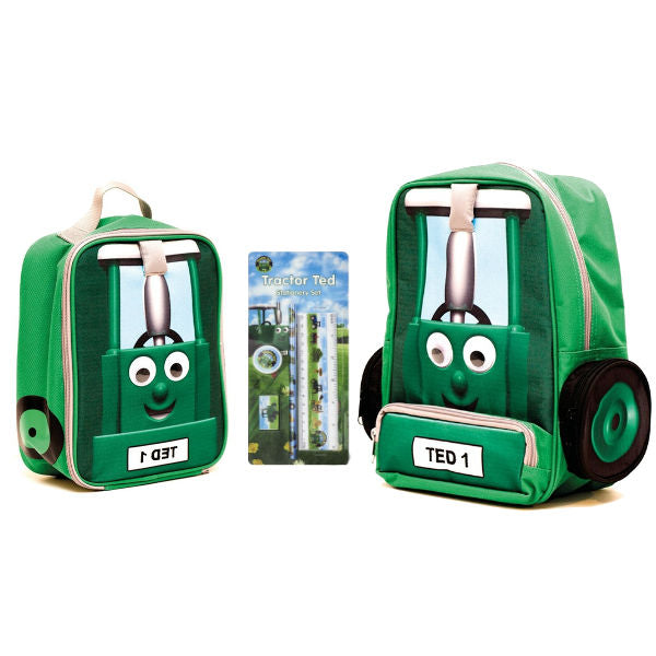 Tractor Ted Back to School Backpack and Lunch Bag Combi - Pencil