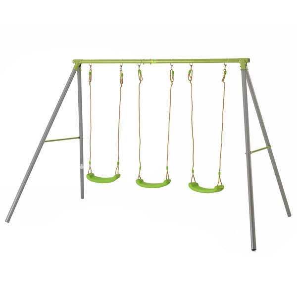 TP Toys Triple Metal Swing Set