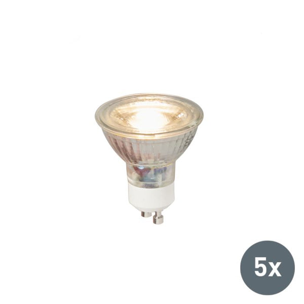 BIQ - Set van 5 LED lamp GU10
