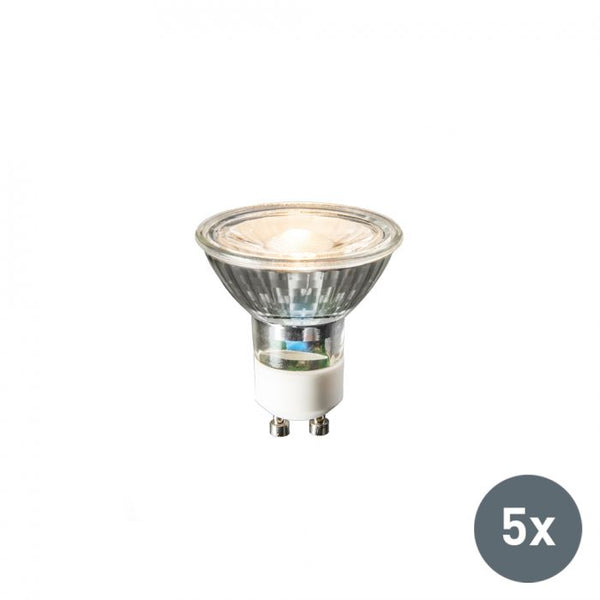 BIQ - Set van 5 GU10 LED lamp