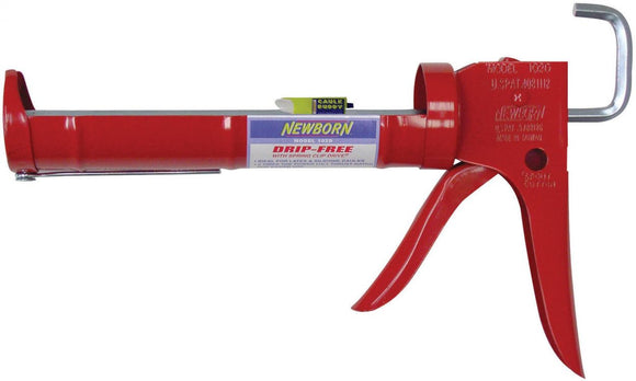 Drip-Free Hex Rod Caulking Gun