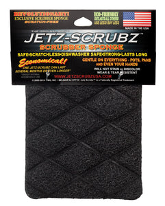 Jetz Scrubz Rectangle Scrubber Sponge