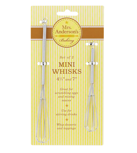 Mrs Anderson's Mini Whisk – Set of 2