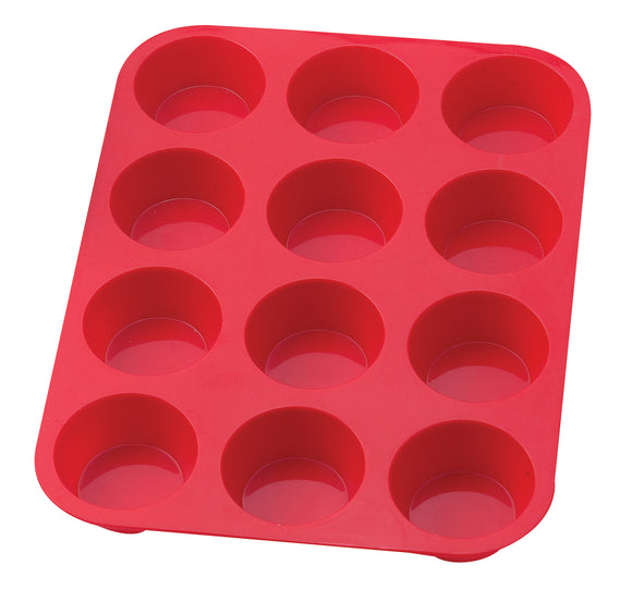 Mrs Anderson's Silicone Muffin Pan – 12 Cup