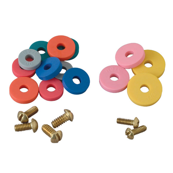 Assorted Faucet Washers with Screws