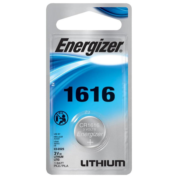 Energizer Lithium 1616 Battery