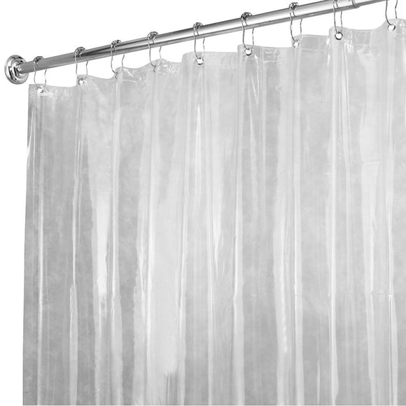 Mold/Mildrew Resistant Shower Liner, Clear